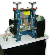 Leather Roller Pressing Machine