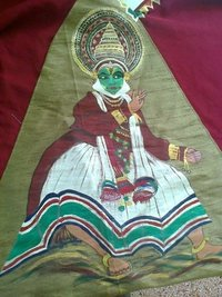 Kathakali Painting In Cloths
