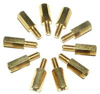Hexagon Brass Spacers