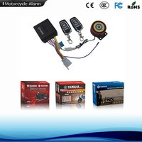 Two Wheeler Motorbike Security Alarm System