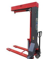 Battery Operated Mobile Stretch Wrapping Machine
