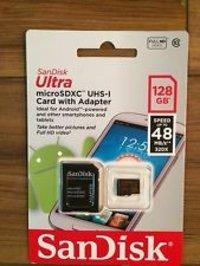 SanDisk MicroSD SDSDQUA 128 GB Micro SDXC Card Memory Card