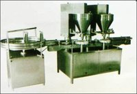 Automatic Double Head And Semi Automatic Auger Powder Filling Machine
