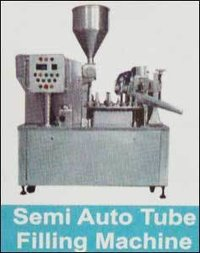 Semi Auto Tube Filling Machine