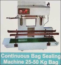 Continuous bag Sealing Machine For 25 to 50 Kg Bags