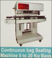 Continuous bag Sealing Machine For 5 to 20 Kg Bags