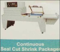 Continuous Seal Cut Shrink Packager Machine