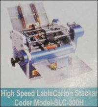 High Speed Lable Carton Stacker Coder Machine