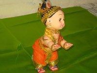 Decorated Krishna Doll