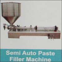 Semi Auto Paste Filler Machine