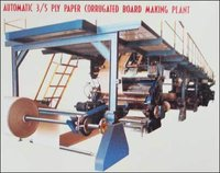 Automatic Ply Paper Corrugated Board Making Plant
