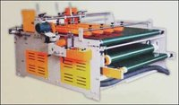 Semi Automatic Pasting Hand Folding And Pressing Machine
