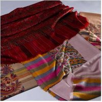 Antique Kani Paldar Handmade Embroidered Pashmina Shawls