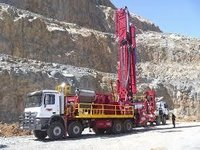 Standard Drilling Rig Mounted On Truck