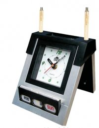 Calender Clock With Pen