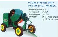 1/2 Bag Concrete Mixer