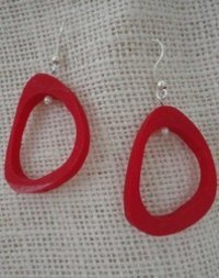 Attractive Resin Ear Ring
