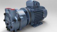2hp Direct Drive Water Ring Vacuum Pump
