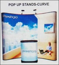 Pop Up Stands Curve