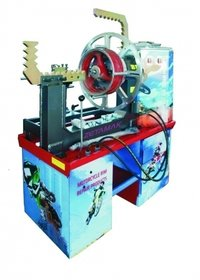 Motorcycle Rim Straightening Machine with Lathe