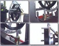 ZETAMAK Rim Straightening Machine with Lathe + Motorcycle Adapter 21''