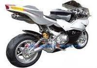 110cc Auto 4 Stroke X19 Super Pocket Bikes