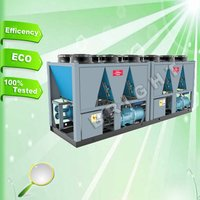 Bright Falling Film Industrial Screw Air Cooled Chiller