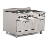 Electric 6 Hot Plate Range With Oven
