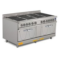 Electric 8 Hot Plate Range With Oven