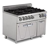 Gas 6 Burner Range With Oven