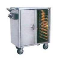 Hot Food Serving Trolley