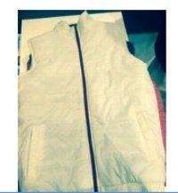 White Half Jacket