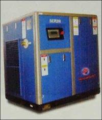 Base Mounted Screw Compressor