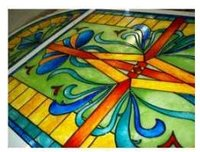Decorative Glass Paintings