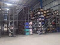 Industrial Slotted Angle Racking System