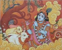 Gopala Krishna Mural Painting