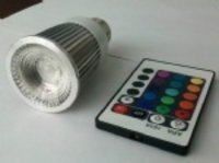 Remote Controlled Rgb Led Bulb Light