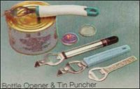 Bottle Opener And Tin Puncher