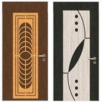 Pvc Laminated Mdf Wooden Door