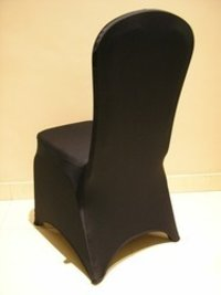 Spandex Chair Cover Black