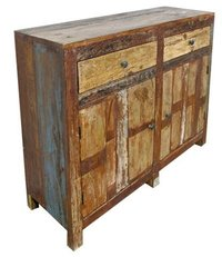 Teak Wood Recycled Cabinet