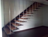 Designer Hanging Or Cantilever Staircases