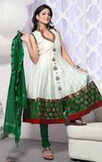 Chanderi Salwar Kameez