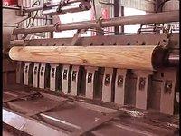 Heavy Duty Veneer Peeling Machine