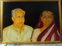 Canvas Painting And Oil Painting