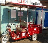 Solar Cargo Rickshaw