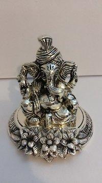 Decorative Pagdi Ganesh Statue