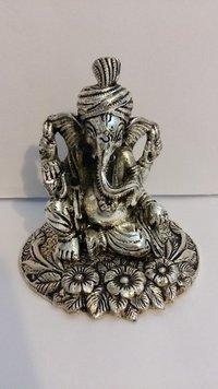 Small Pagdi Ganesh Statue