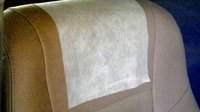 Non Woven Airplane Headrest Cover