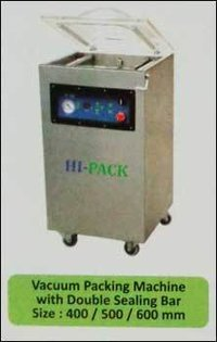 Vacuum Packing Machine With Double Sealing Bar